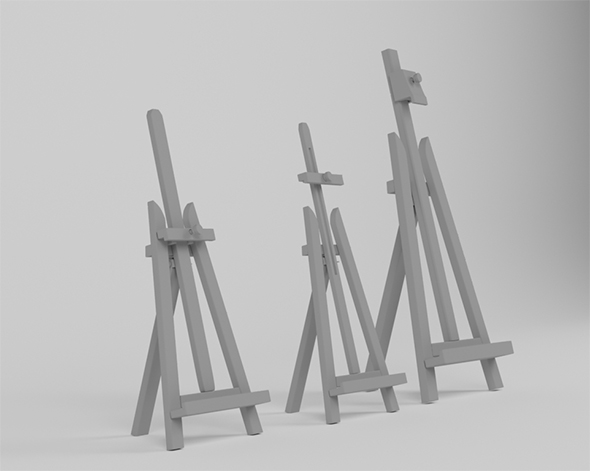 "Desktop easel ""Lira"" - 3DOcean Item for Sale"