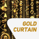 Gold Deco Curtain - VideoHive Item for Sale