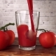 Pouring Tomato Juice in a Glass - VideoHive Item for Sale