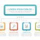 Infographic Template with Four Steps - GraphicRiver Item for Sale