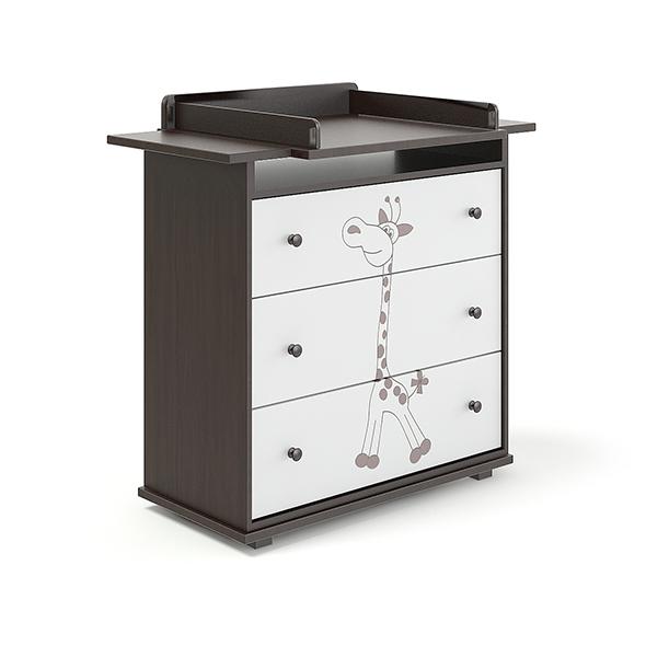 Dark Children's Cabinet - 3DOcean Item for Sale