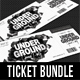 3 in 1 Special Party Event Ticket Bundle V05 - GraphicRiver Item for Sale