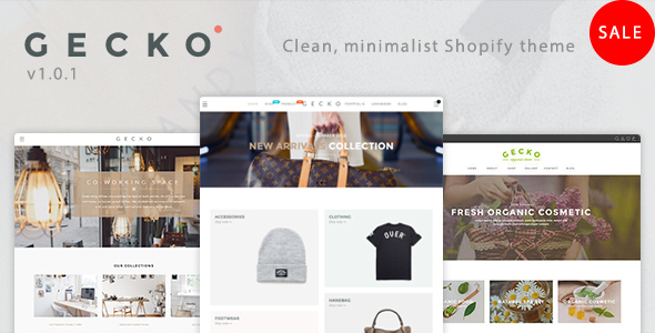 Gecko - Responsive Shopify Theme - Fashion Shopify