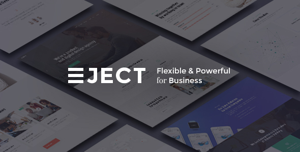 Eject | Web Studio & Creative Agency WordPress Theme - Business Corporate