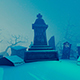 An Old Cemetery In The Winter - VideoHive Item for Sale