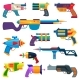 Cartoon Toy Blaster Guns for Kids Game - GraphicRiver Item for Sale