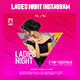 Ladies Night Instagram Banner - GraphicRiver Item for Sale