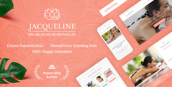 Jacqueline | Spa & Massage Salon Theme - Health & Beauty Retail