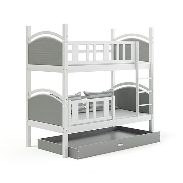 Grey Bunk Bed - 3DOcean Item for Sale