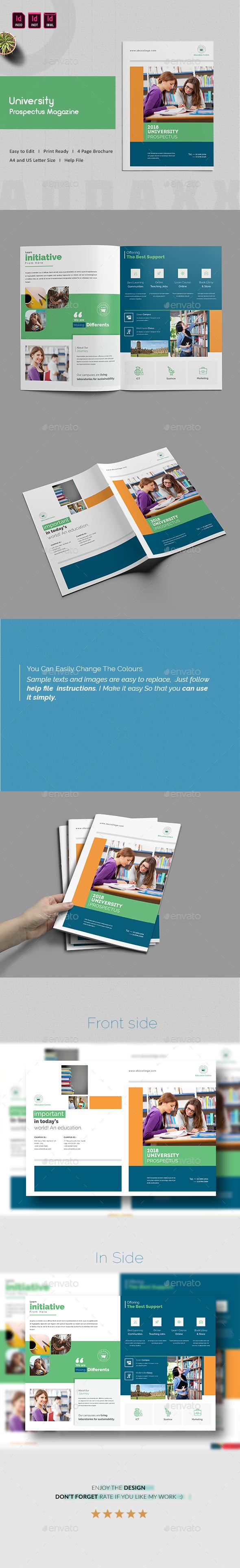 University Prospectus Magazine - Informational Brochures