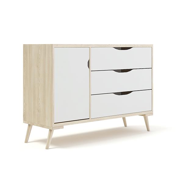 Wooden Children's Cabinet - 3DOcean Item for Sale
