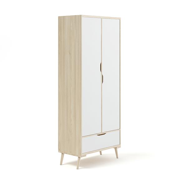 Wooden Children's Wardrobe - 3DOcean Item for Sale
