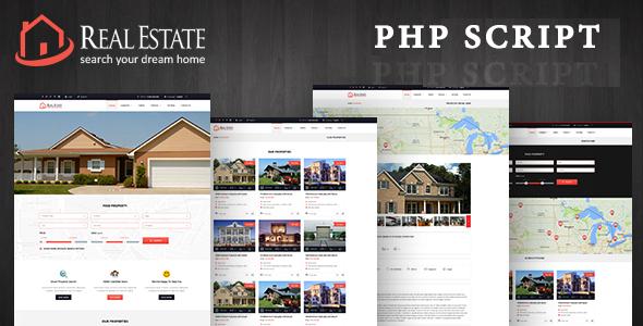 Real Estate Custom Script - CodeCanyon Item for Sale