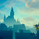 City In The Morning Mist - VideoHive Item for Sale