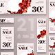 Natural Cosmetics Sales Banner Pack