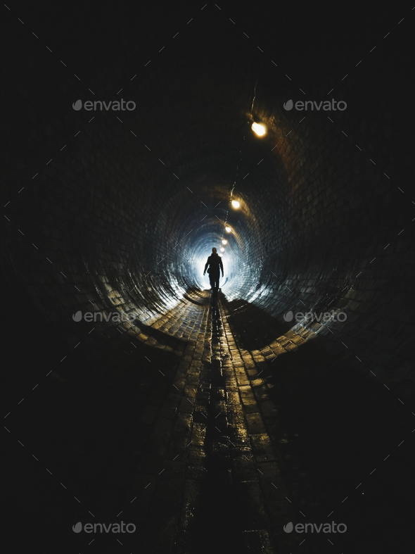 Light at the end - Stock Photo - Images