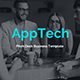 AppTech Pitch Deck Business Keynote Template