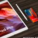 Pad Pro, Phone X, Sketchbook MDesign Mockup