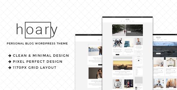 Hoary - Minimal Blog WordPress Theme