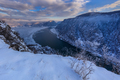 Danube Gorges in winter, Romania - PhotoDune Item for Sale