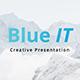 BlueIT Creative Powerpoint Template