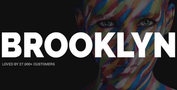 Brooklyn | Creative, Bold, Modern Multipurpose WP Theme - Creative WordPress