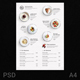 Clean Menu White Wood - GraphicRiver Item for Sale