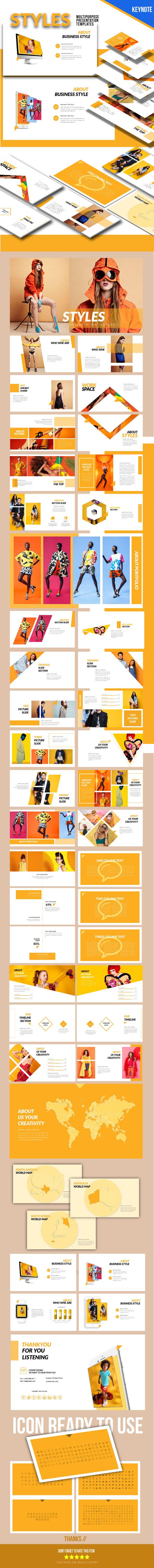 Styles - Keynote Presentation Templates - Keynote Templates Presentation Templates