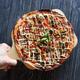 Hands deliver a pizza - PhotoDune Item for Sale