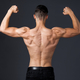 Muscular young man poses in studio with jeans and shirtless - PhotoDune Item for Sale