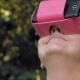 Woman Explores Virtual Reality Using VR Glasses - VideoHive Item for Sale