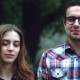 Happy Young Couple Hipster, Look at the Camera  - VideoHive Item for Sale