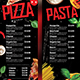 Pizza and Pasta Menu - GraphicRiver Item for Sale