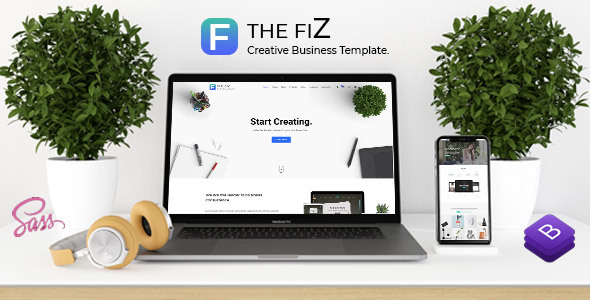 The Fiz - Multipurpose Business and Corporate HTML5 Template