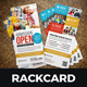 School Study Promotion Rackcard Postcard Design