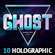 Holographic Effects - 10 PSD Mockups - GraphicRiver Item for Sale