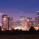 Night Panoramic Composition Downtown City Urban Skyline Houston - PhotoDune Item for Sale