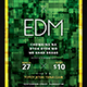 EDM Flyer - GraphicRiver Item for Sale