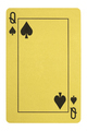 ddGolden playing cards, Queen of spades - PhotoDune Item for Sale