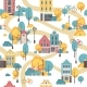 Seamless City Pattern - GraphicRiver Item for Sale