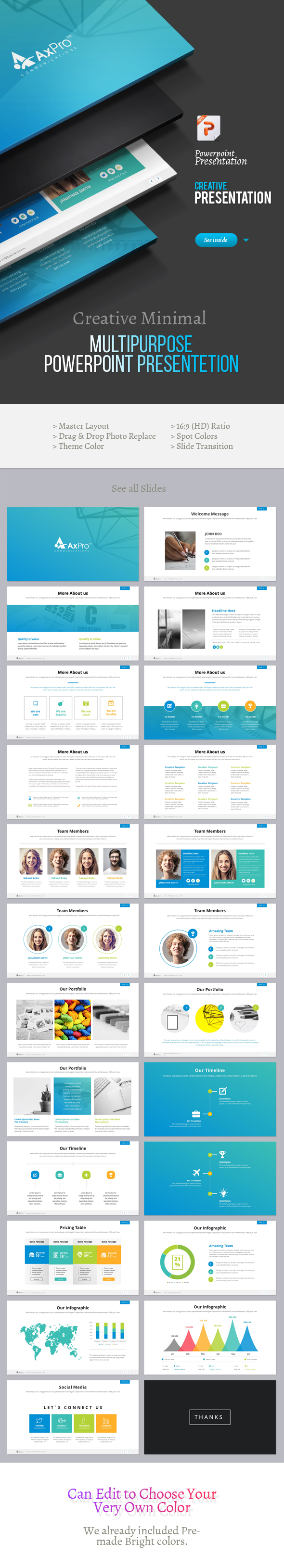 Creative Powerpoint Presentation - Creative PowerPoint Templates