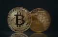 Golden Bitcoin Cryptocurrency - PhotoDune Item for Sale