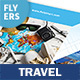 Travel Agency Flyers 3 – 4 Options - GraphicRiver Item for Sale