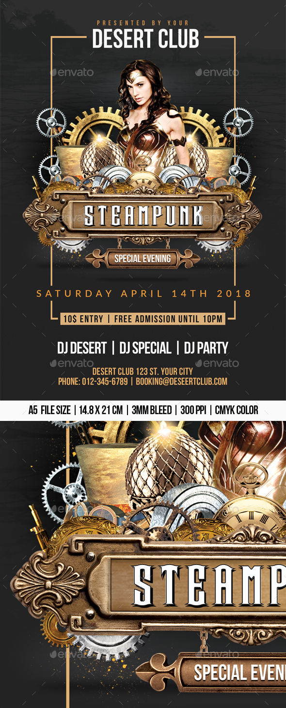 Steampunk Party - Clubs & Parties Events