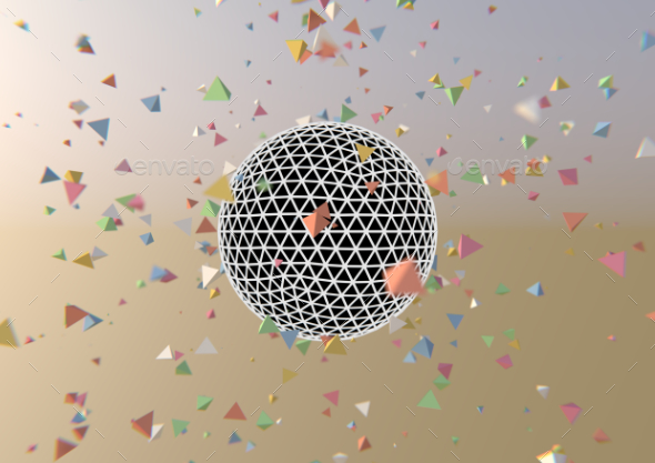 Abstract Sphere - 3D Backgrounds