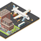 Isometric Air Logistics Concept - GraphicRiver Item for Sale