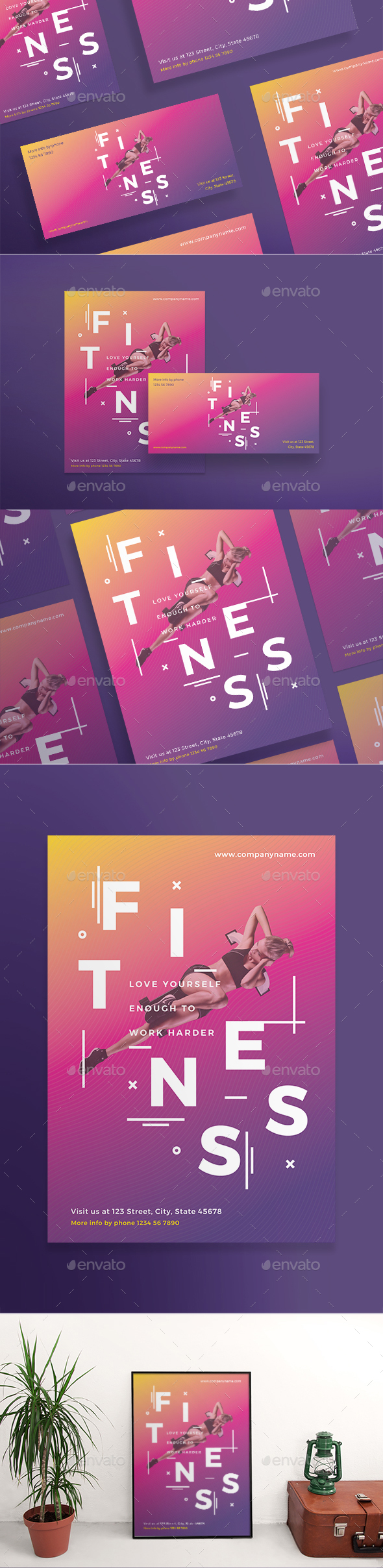 Fitness Training Gym Flyers - Sports Events
