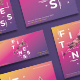 Fitness Training Gym Flyers