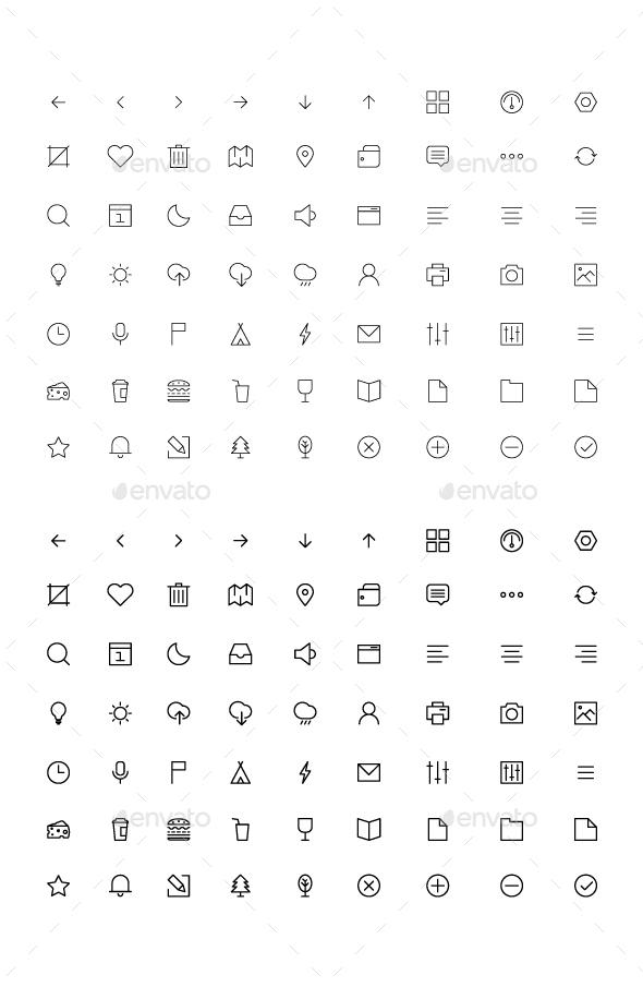 Vector Icon Set - Icons