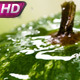 Drops of Water Crashing on Watermelon - VideoHive Item for Sale